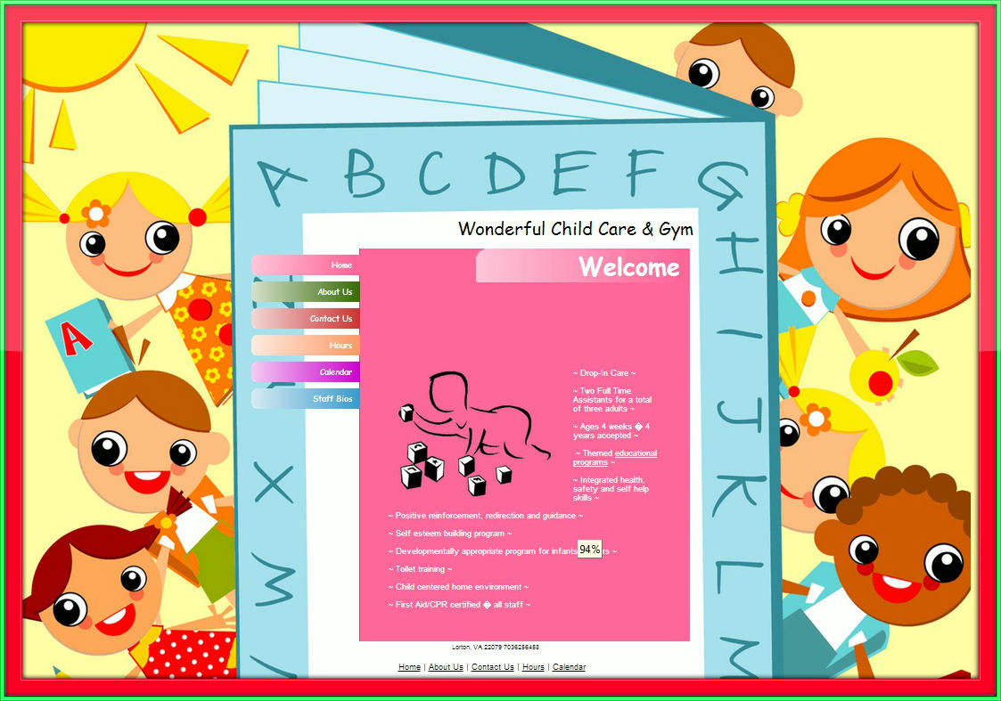 It's just an image of Free Printable Daycare Flyers pertaining to work
